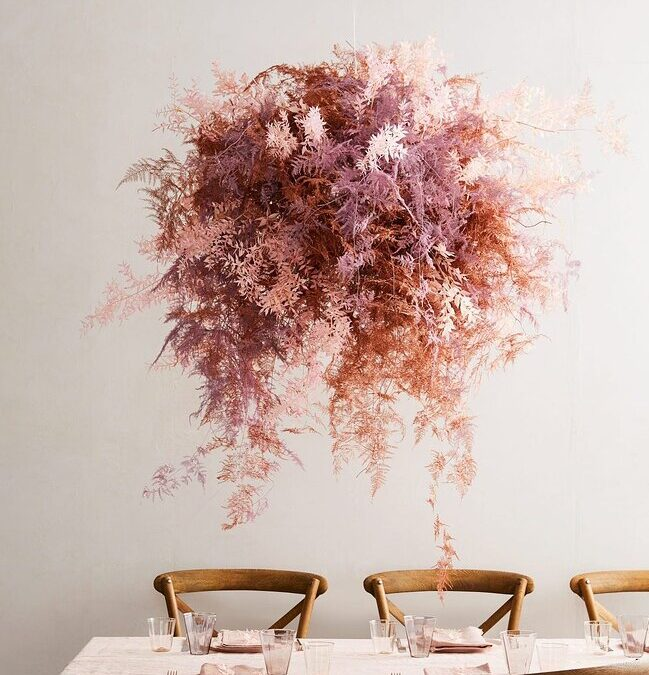 Three Beautiful, Unexpected Ways to Work Dried Flowers Into Your Wedding